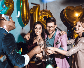 Inspired Themes for Your New Year's Eve Party Friends Image