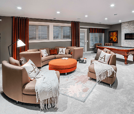 Our Interior Design Predictions for 2018 Trends Basement Image